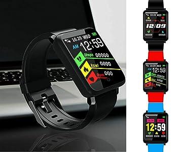 Topolenashop F1 - Reloj de Pulsera Inteligente con Monitor ...