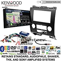 Volunteer Audio Kenwood Excelon DNX994S Double Din Radio Install Kit with GPS Navigation Apple CarPlay Android Auto Fits 2008-2012 Ford Escape, Mazda Tribute, Mercury Mariner (Black)