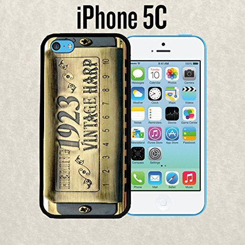 iphone-case-vintage-harp-harmonica-for-iphone-5c-rubber-black-ships-from-ca
