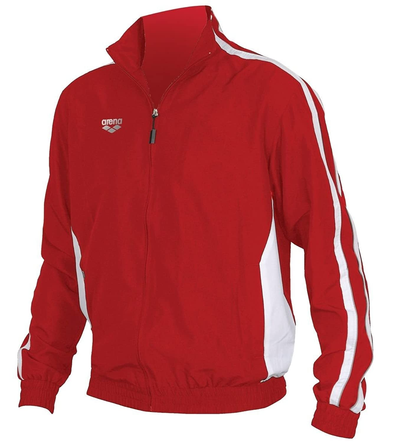 arena Tribal Youth Warm Up Jacket (Red/White, Small) for cheap 2yfl4OKm
