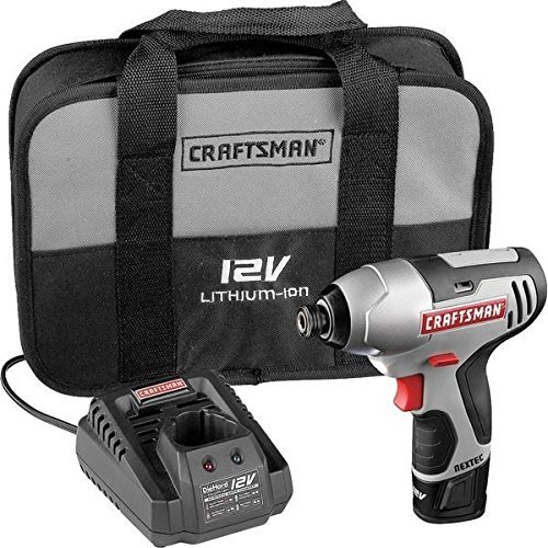 Craftsman 17428 Nextec 12-volt Cordless Compact 1/4'' Impact Driver --P#EWT43 65234R3FA411767 by Lisongin