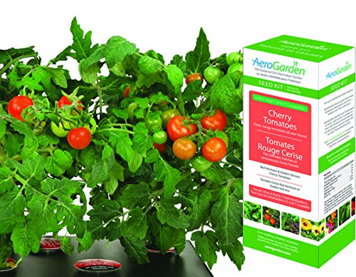 AeroGarden - Cherry Tomato Seed Kit - Red Heirloom Tomatos - AERO501 by Hydrofarm