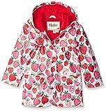 Hatley Girl's Strawberry Sundae Raincoat, Multicoloured (White), 3 Years Bild