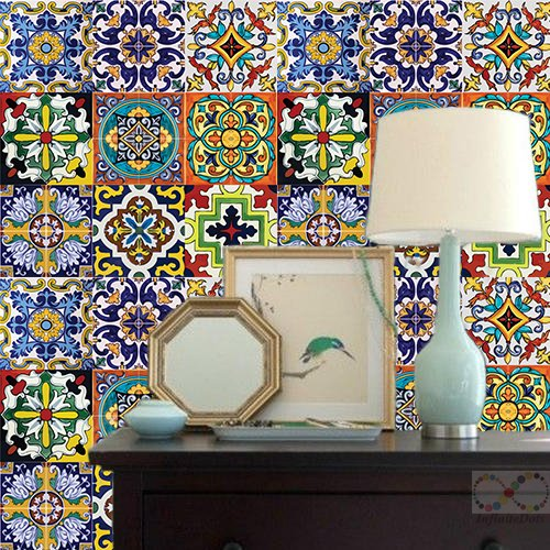 Wallpaper Mexican Themed Peel And Stick Self Adhesive Home