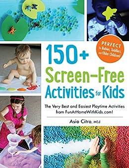150 Screen Free Activities Kids FunAtHomeWithKids com ebook product image