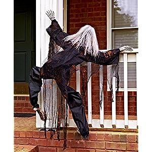 63″ Life Size Climbing Zombies Halloween Haunted House Prop Decor (set of 2)