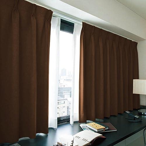 窓美人 エール 遮光性カーテン&UVカットミラーレース