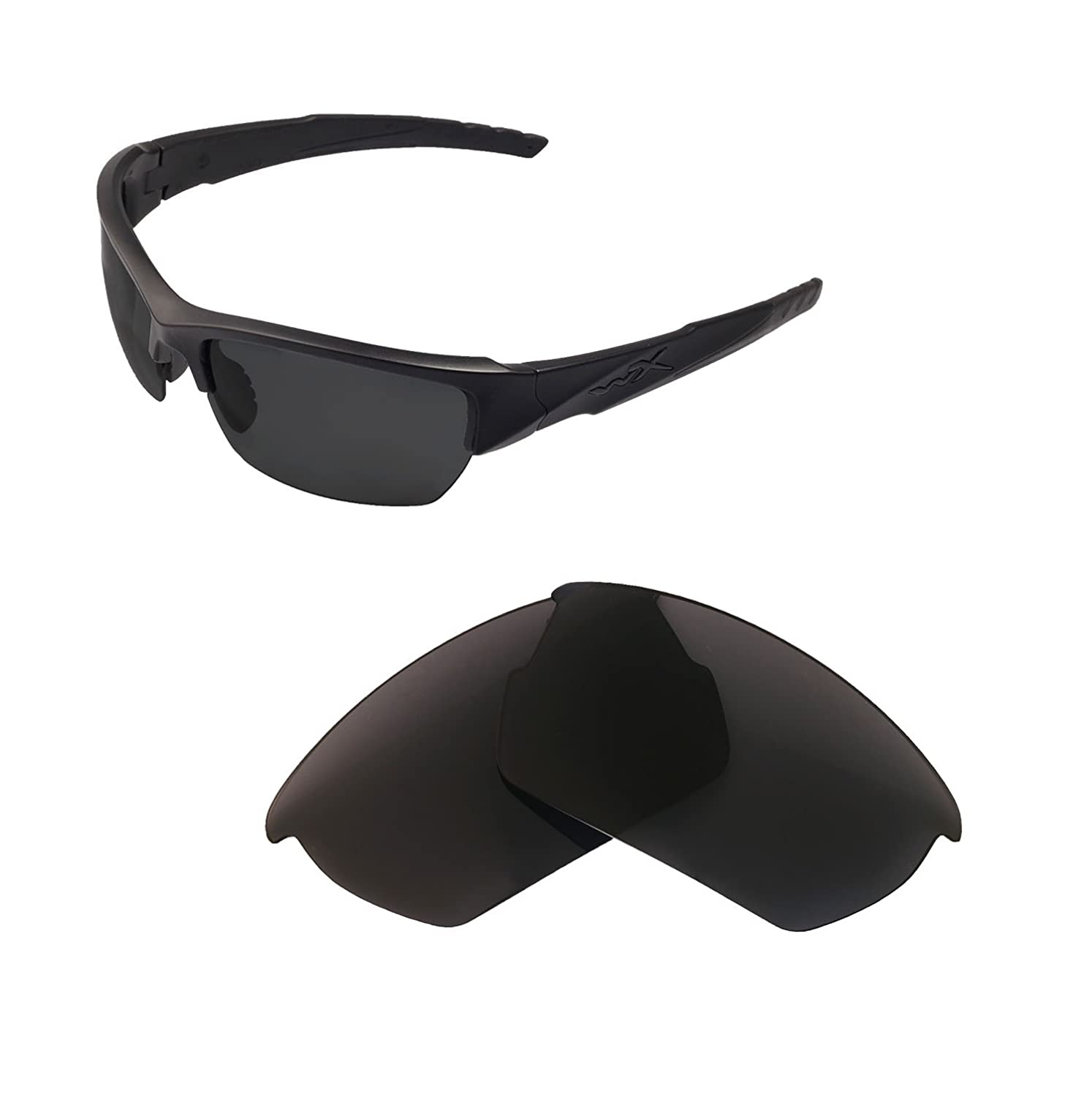 Walleva Replacement Lenses Wiley X Valor Sunglasses - Multiple Options Available