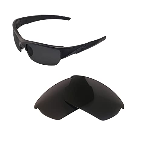 a2af505afd Walleva Replacement Lenses for Wiley X Valor Sunglasses - Multiple Options  Available (Black)  Amazon.ca  Clothing   Accessories