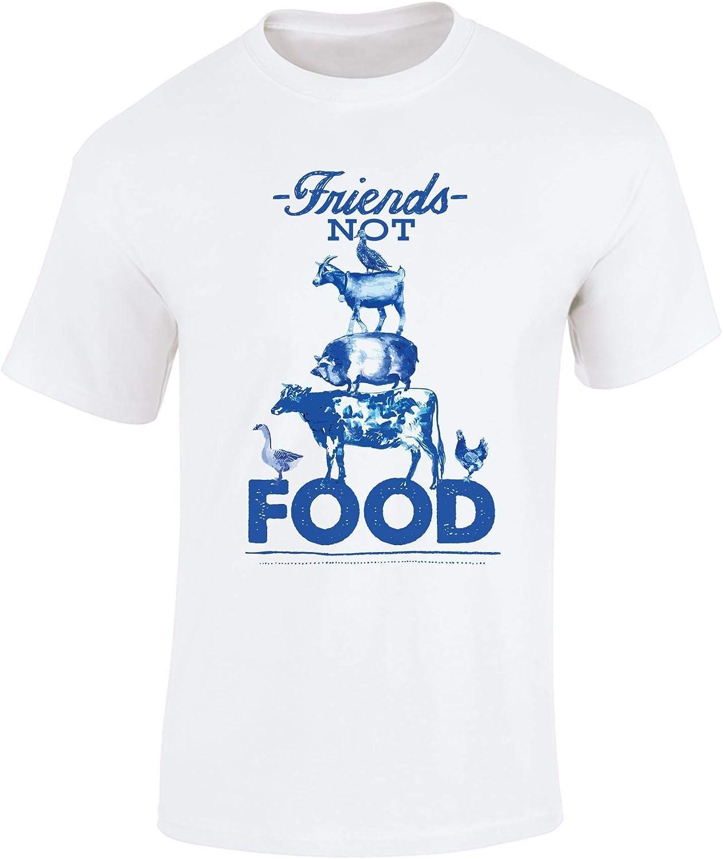Vegan T Shirt - Friends Not Food Tshirt - Vegan Gifts for Men