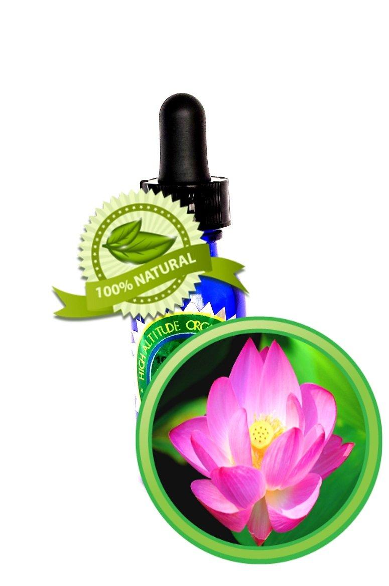 Pink Lotus Absolute Oil - 100% PURE Nelumbo Nucifera - 15 ml (1/2 oz)