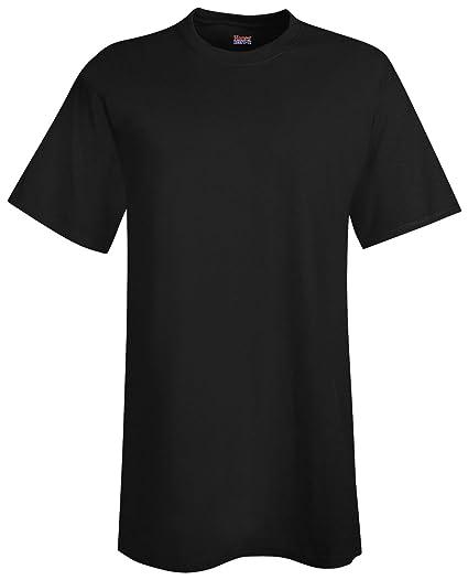 fb4f37e8e Hanes Men's Beefy-T Crewneck Short-Sleeve T-Shirt, Black - 4X Tall at  Amazon Women's Clothing store: Novelty T Shirts