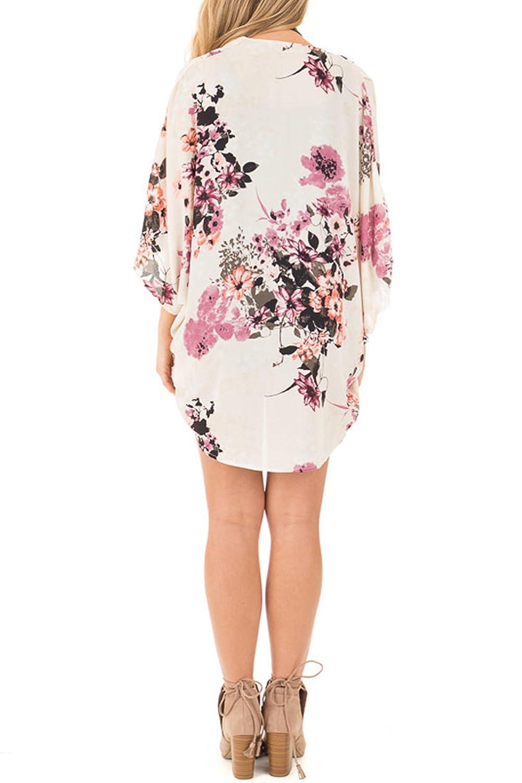 Runant Cover Up para Mujer Kimono Mujer Bohemia Floral Gassan Cardigan Tops mant/ón del Kimono