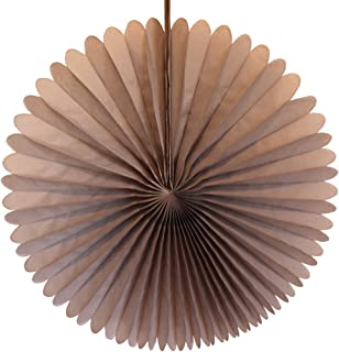product image for 3-pack 13 Inch Tissue Paper Party Fans (Gray)