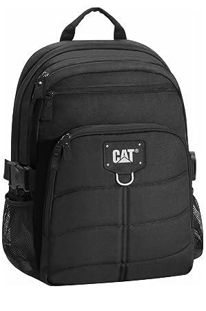 Caterpillar 83435 - 01 Cat Mochila Brent Millennial, SW, Negro, L/B/H: 32/18/45, Volumen: 22 L: Amazon.es: Coche y moto