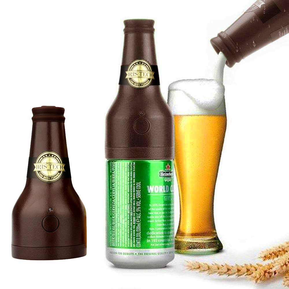 Beer Dispenser Portable Ultrasonic Vibration Battery Beer Creamy Foam Server Frother Beer Beer Bar Ultrasonic Enrich Fresh Taste