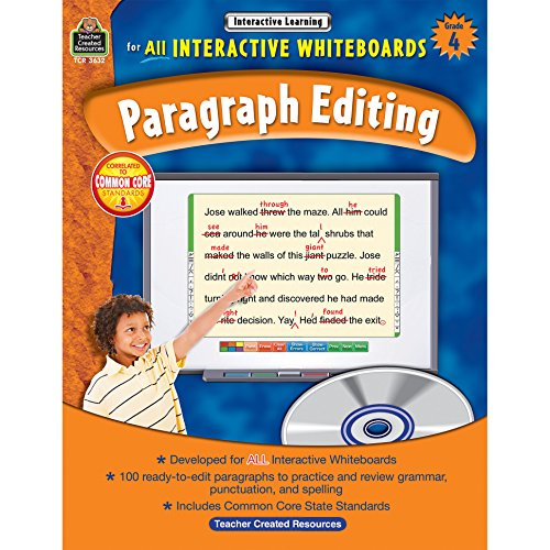 Interactive Learning: Paragraph Editing Grd 4
