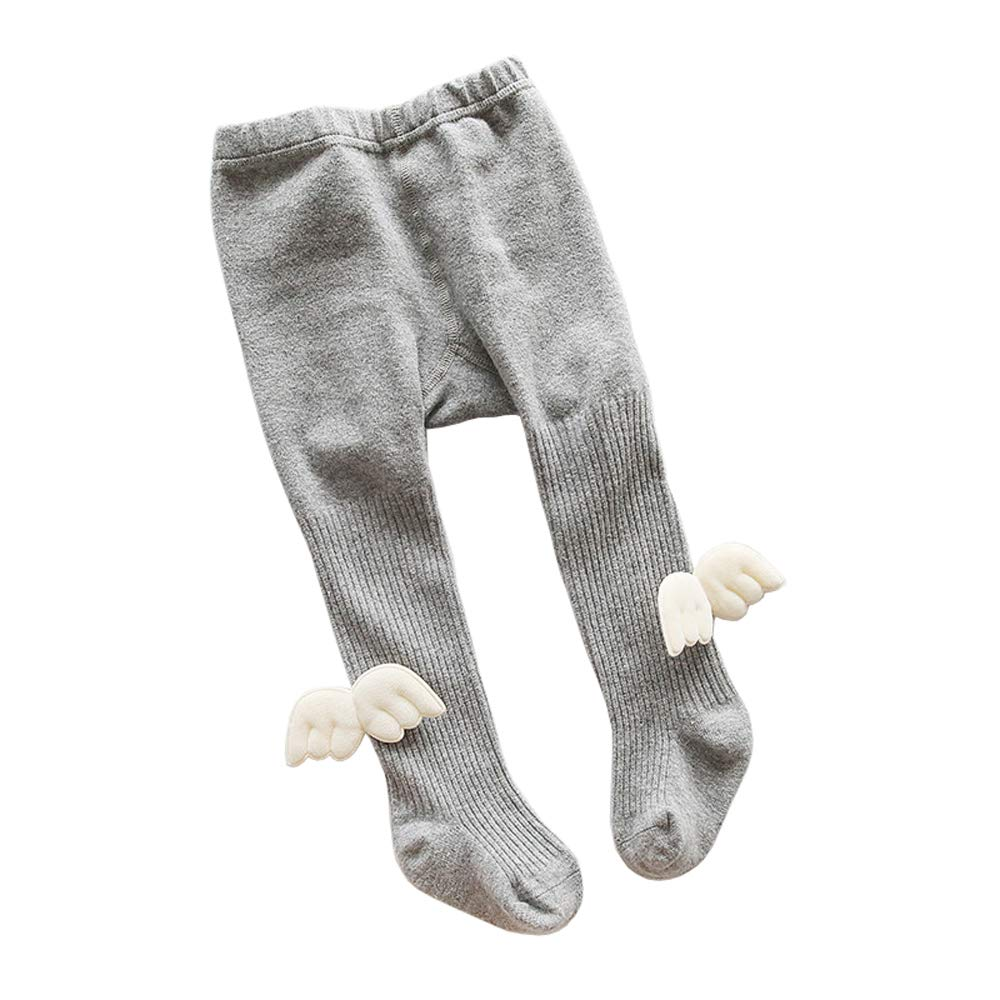 Xinqiao Baby Toddler Girls/' Socks Stretch Stockings Striped Bowknot Tights