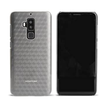 T&R Homtom S8 Funda, Hard PC Cover Case Protictive Carcasa Funda para Homtom S8 Smartphone