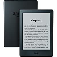 "Kindle | 6"" Touchscreen Display (without built-in light), Wi-Fi (Black)—Includes Special Offers"