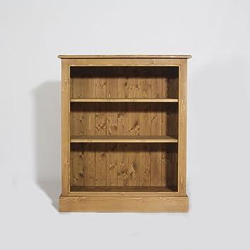 Made In Meubles Bibus Cabinet 2 Shelves Solid Pine N188 Bois