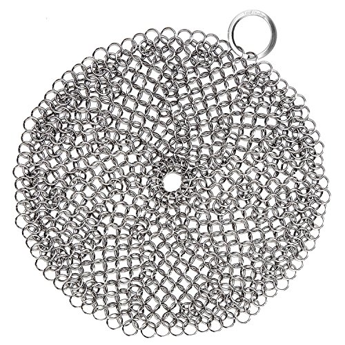 LauKingdom Anti Rust Stainless Chainmail Scrubber product image