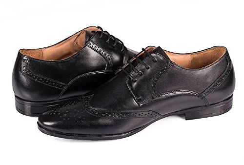 Amazoncom Vincenancy Handcrafted Genuine Oxford Leather Shoes