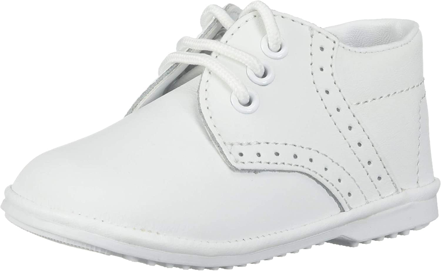 Angels Garment Baby Toddler Boys White Oxford Dress Shoes 1-7