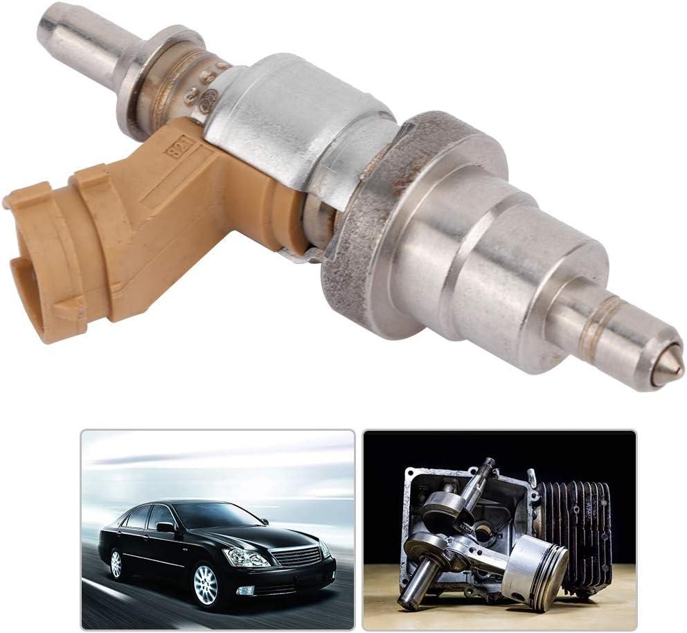 Fydun Einspritzventil Motor Fuel Injector Kit Autogas Fuel Injector Silver f/ür RAV4 IS250 220D 23710-26011 23710-26010 2371026011