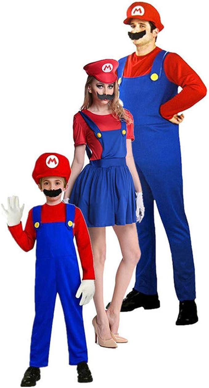 wetry Disfraces Familiares Carnaval Padre Madre Hija Hijo Disfraz ...