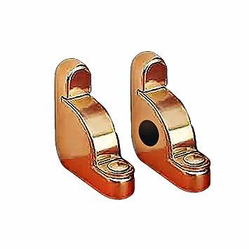 Pair Carpet Rod Brackets Solid Brass Stair Holder | Renovatoru0027s Supply