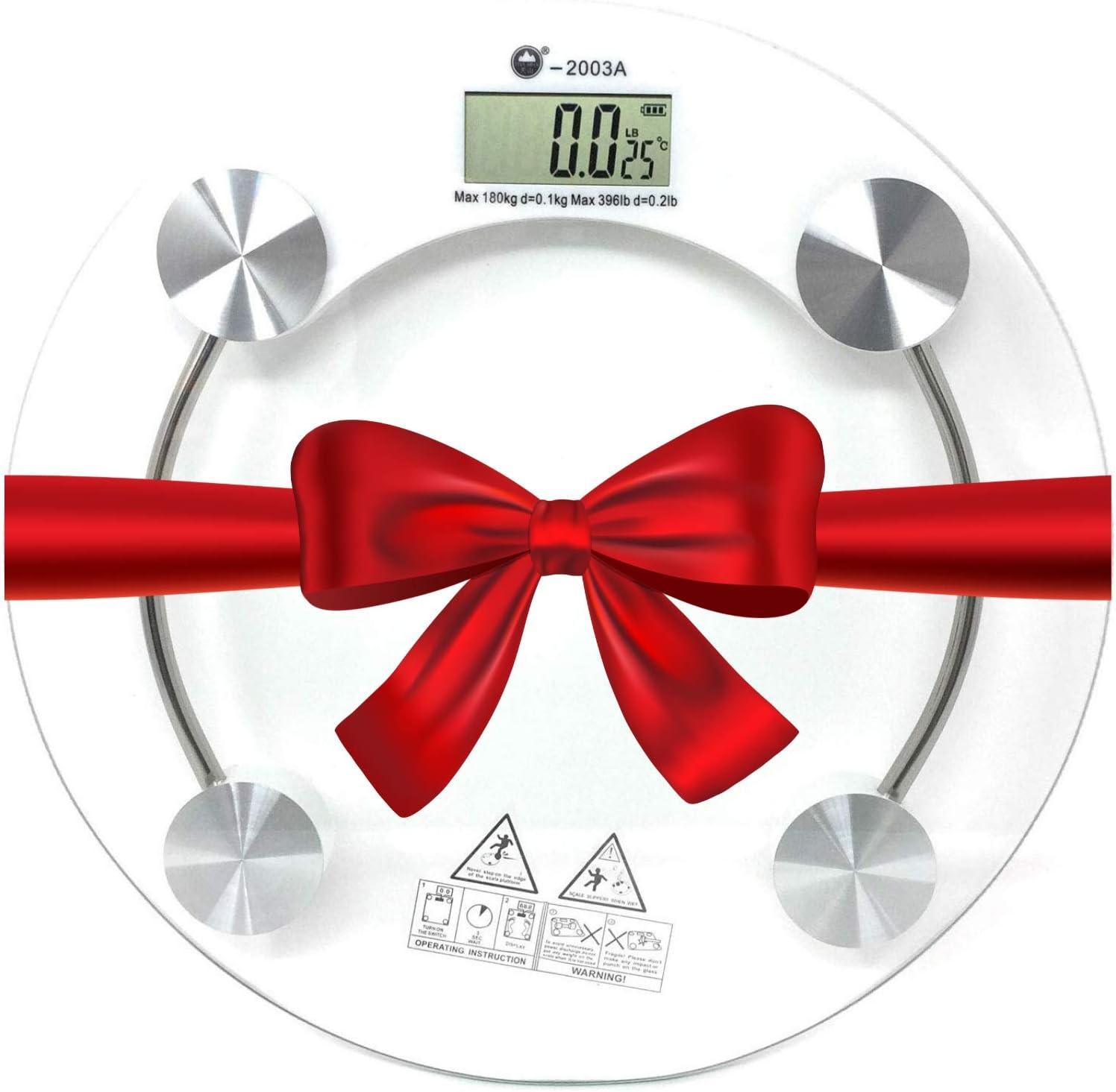 Balanza digital para peso corporal, báscula de baño digital más precisa, báscula de baño digital de peso que te mantiene en buen camino, básculas de peso para personas con diseño antideslizante plataforma
