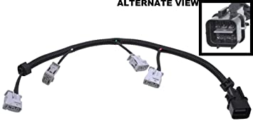 61AuVkQvgfL._SX355_ amazon com apdty 112845 ignition coil pigtail connector complete  at bayanpartner.co