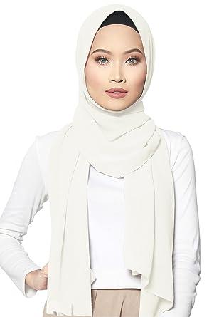 Safiya Hijab Kopftuch Halstuch Für Damen I Kopfbedeckung 75 X
