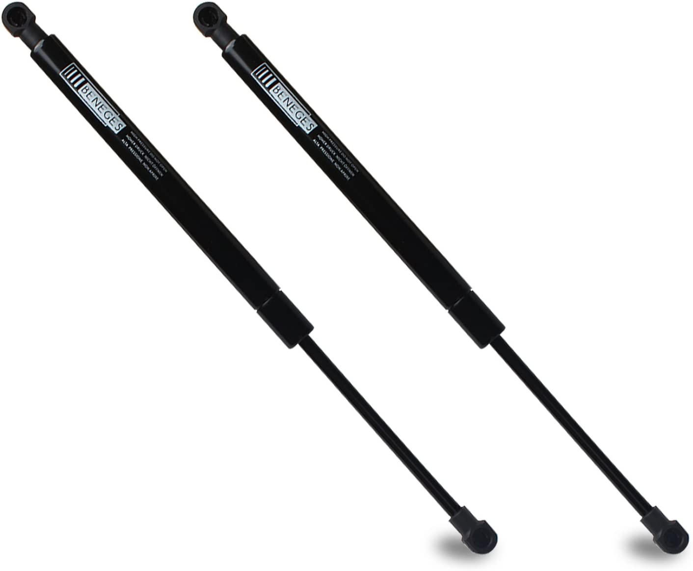 Beneges 2PCs Trunk Lift Supports Compatible with 2004-2009 Toyota Prius Rear Hatch Trunk Lift Gas Spring Charged Struts Shocks Dampers SG329019