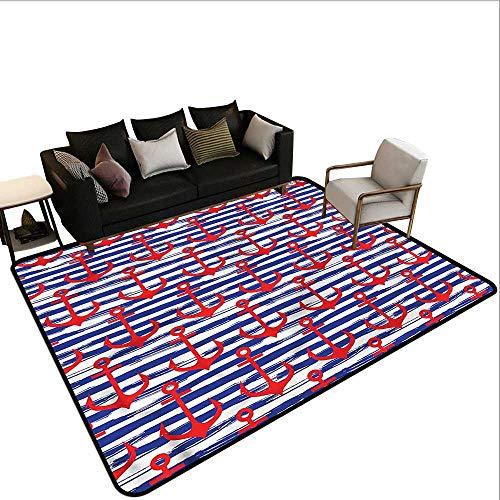 (Anchor,Floor Mat Kitchen Long Carpet 48