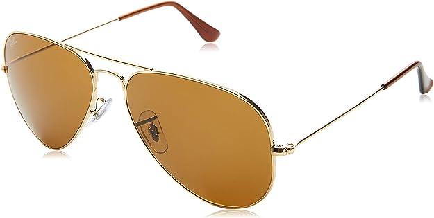TALLA 58. Ray-Ban Aviator Large Metal, Gafas de sol para Hombre