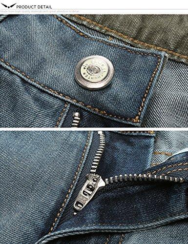 Taglio Regolare amp;hunter Jeans Blu X 802r4 Uomo Series Dritto Demon 802r BTwqAC