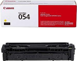 Canon Genuine Toner, Cartridge 054 Yellow (3021C001) 1 Pack, for Canon Color imageCLASS MF641Cdw, MF642Cdw, MF644Cdw, LBP622Cdw Laser Printers