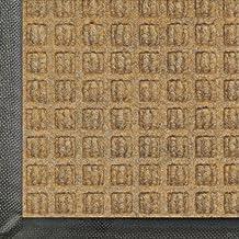 Andersen 200 Waterhog Classic Polypropylene Fiber Entrance Indoor/Outdoor Floor Mat, SBR Rubber Backing, 27-Feet Length X 18-Feet Width, Gold