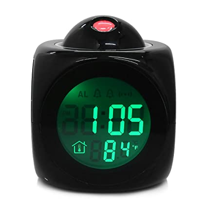 Amazon.com: Reloj Time – Reloj despertador original Vibe Lcd ...