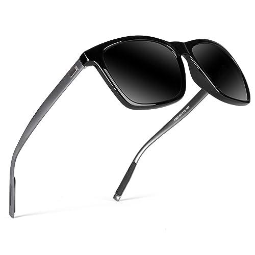 Gd8001 Frame Metal Sunglasses Ultra Men Women Vintage Light For Polarized Goudi CBdsxrthQ