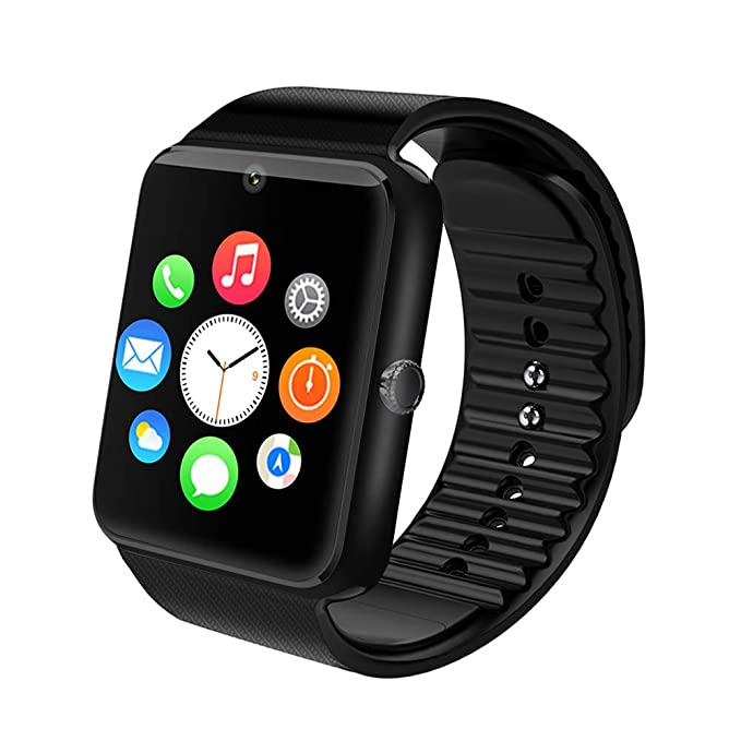 Smart Watch, Maoday Bluetooth Smartwatch Unlocked Watch Phone with SIM Card Slot Camera Pedometer Touch Screen Music Player Smart Wrist Watch Android ...