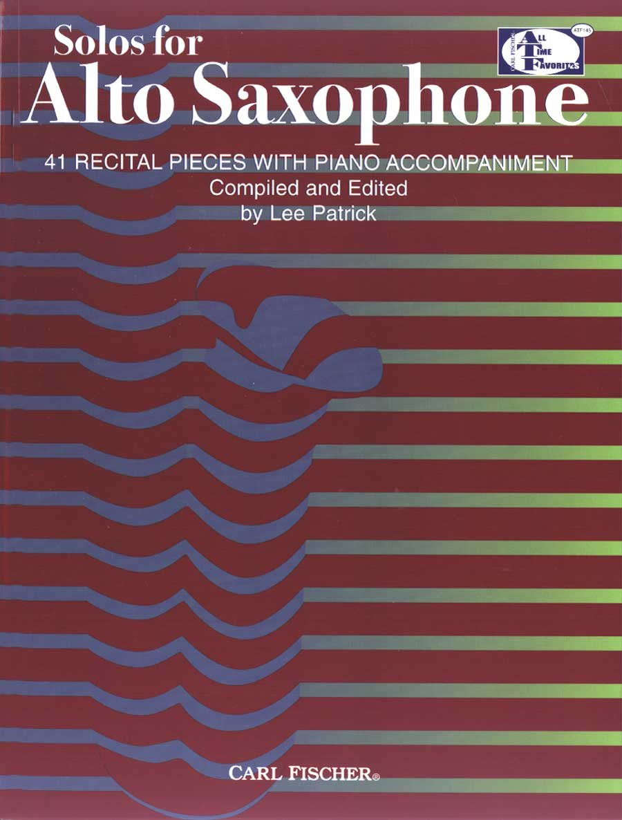 Download ATF145 - Solos for Alto Saxophone - 41 Recital Pieces with Piano Accompaniment ebook