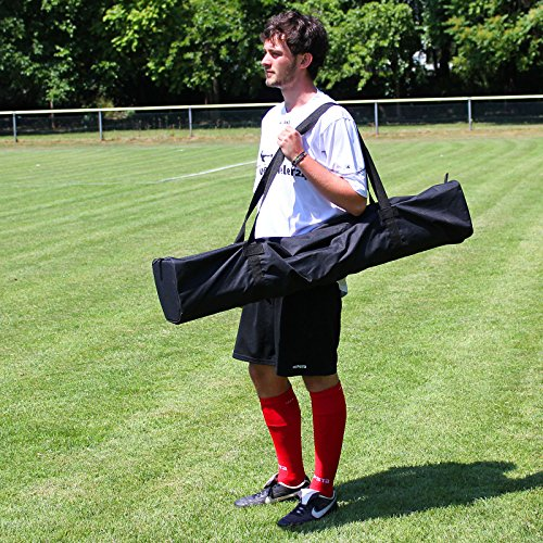 Tasche für Slalomstangen 100 cm lang, für Agility - Hundetraining, Farbe: schwarz
