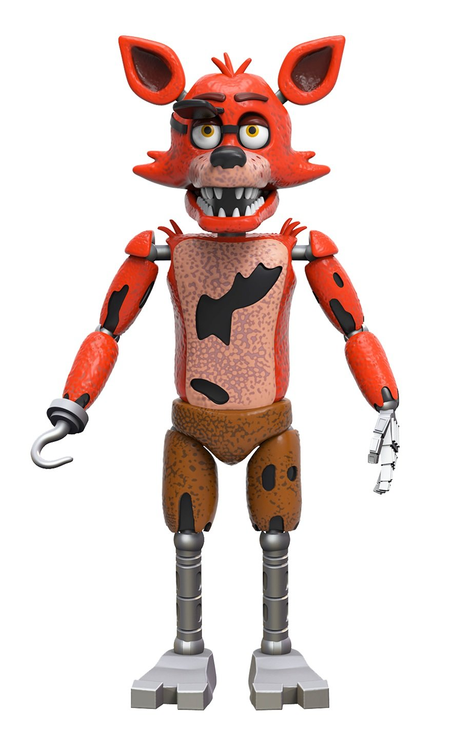 Funko Five Nights At Freddys Articulated Foxy Action Figure 5 Ebay