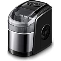 Ice Maker Machine for Countertop, Self-Cleaning Function, 26Lbs/24H Portable Ice Maker, 9 Cubes Ready in 6 Mins, Compact…