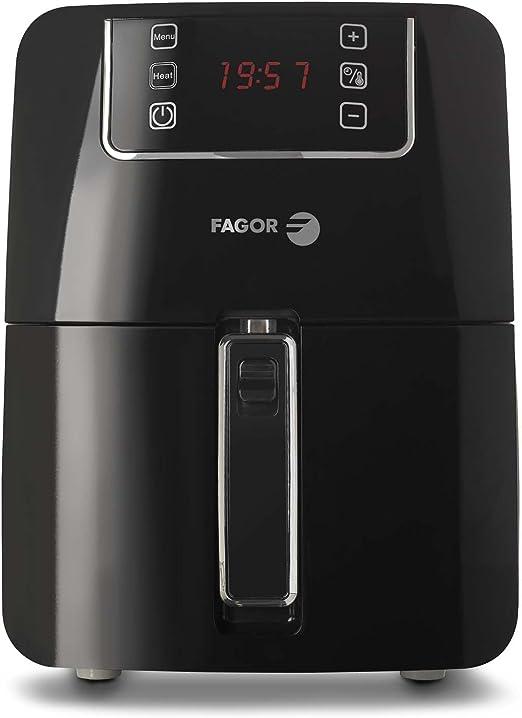 Fagor AF-600 EC Freidora por aire, 1300 W, 2.2 litros, Negro ...