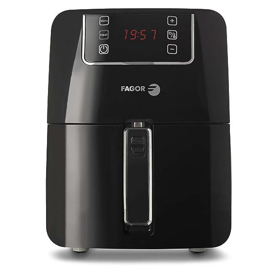 Fagor AF-600 EC Freidora por aire 1300 W, 2.2 litros, Negro: Amazon.es: Hogar