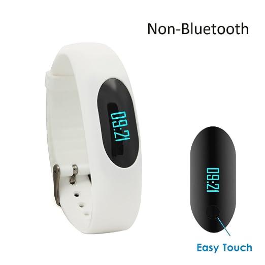 29 opinioni per Fitness Tracker,GanRiver® Pedometro Senza Connessione Bluetooth, accurata